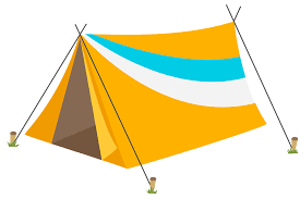 Trwałe namioty turystyczne
