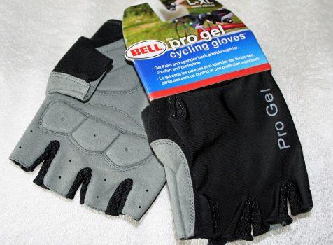 Typowe rękawiczki rowerowe